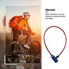 1x Thick Bicycle Bikes Cycle Spiral Steel Cable Locks/Strong Security Chain A7R0