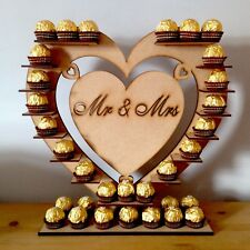 Ferraro Rocher Chocolate Stand Mr & Mrs