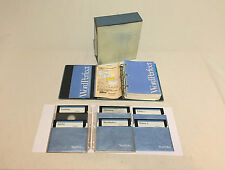 Vintage Word Perfect 4.1 PC Software Floppy Disks Manual In Original Box - Rare