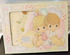 New Precious Moments Quiltex Baby New Born Ones Hat & Booties Gift Set Iob