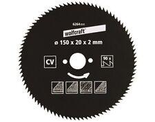 Wolfcraft Kreissäge-Blatt 200 X 25 72 Zähne 6278