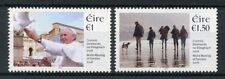 Ireland 2018 MNH World Meeting of Families Pope Francis 2v Set Doves  Stamps