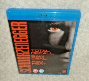 Schwarzenegger Collection - Total Recall, Raw Deal, Red Heat (BLU RAY, 3-Disc)