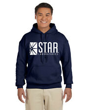 Star Labs Pullover Hoodie Sweat Shirt The Flash STAR LABORATORIES Superman