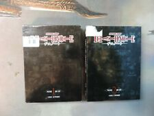 Death Note Anime DVD Box Set 1 & 2 Lot Shonen Jump