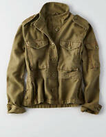 American Eagle Outfitters AEO Women Military Utility Crop Jacket - M, L, XL