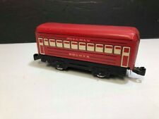 Marx O Gauge Red Lithographed Bogota Pullman Car  VERY GOOD