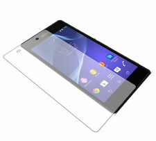LOT x2 Sony Xperia Z4 - Z3+ Tempered Glass Screen Protector 9H Ultra Clear X2
