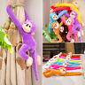 Colorful Long Arm Monkey Hanging Soft Plush Doll Stuffed Animal Kids Baby Toy Vi