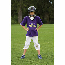 YOUTH SMALL Baltimore Ravens NFL UNIFORM SET Kid Game Day Jersey Costume Age 4-6