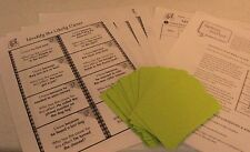 TEACHERS: I Have, Who Has?  DIY Flashcards-Identify the Likely Cause (Gr. 1-2)