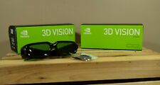Nvidia 3D Vision Glasses 1 New and 1 Used