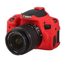 easyCover Canon 750D / Rebel T6i EA-ECC750DR Camera Protective Case RED Silicone