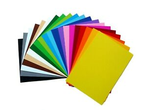 A5 Coloured Card Assorted Colours 180g - Pack of 20
