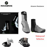 RockBros Cycling Shoes Cover Made With Kevlar Fabric Warm Waterproof Overshoes
