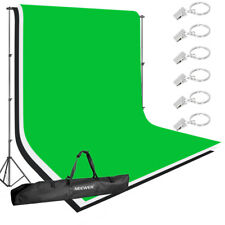 Neewer Lighting Studio Background Kit with Backdrop Support Stand and Cross Bar
