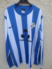 Maillot NANTES SUD 98 porté n°14 NIKE football shirt manches longues XL Dri-Fit