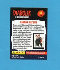 DIABOLIK IL RE DEL TERRORE - Card n.C7- GABRIELE DELL'OTTO - NUOVA / NEW