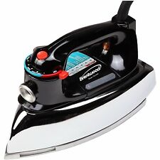 New Brentwood Classic Steam/Spray/Dry Clothes Iron With Chrome Plated Body