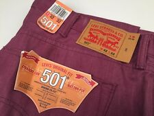 Brand New! Levis 501 Rare Limited Edition  Button Fly Shrink To Fit - Mens 42X32