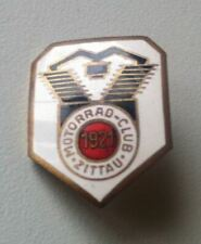 MOTORRAD-CLUB ZITTAU 1921 Abzeichen Brosche emailliert
