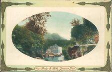 Jesmond dene ivy bridge & falls 1912