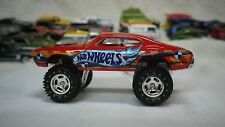 2016 Hot Wheels Red 70 Olds 442 W-30 4X4 Custom Real Riders