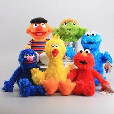 Sesame Street Plush Elmo Cookie Monster Toy Doll Play Games Soft Stuffed Animal
