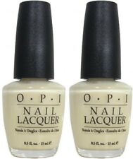 OPI Nail Lacquer CREAM OF CRETE (NL G05) Pack Of 2