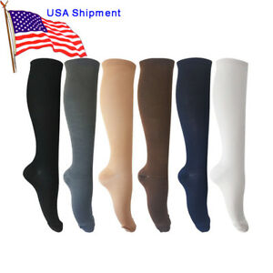 6Pairs Compression Socks Support Sockings Graduated Men's Women's (S-XXL)