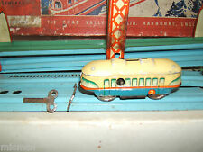 Vintage Ferrocarril de Chad Valley hojalata Clockwork sobrecarga