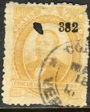 MEXICO-Veracruz 142, 50¢ 382 NO DISTRICT NAME. USED. F. (134)