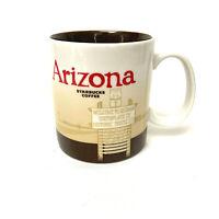 2012 Starbucks City Coffee Mug Arizona Historic US Route 66