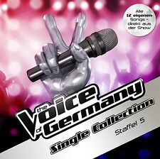 THE VOICE OF GERMANY - DIE SINGLE COLLECTION-STAFFEL 5  CD NEU