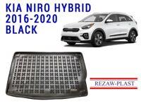 Cargo Mat For Kia Niro Hybrid 2016-2020 Black All Weather Rear Trunk Liner Tray