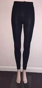 Footless Tights Opaque 100D & fleece in Black size S/M and M/L **UK STOCK **
