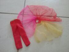 Vintagr Fashion Photo Barbie ORIGINAL RED PANTS & MULTI COLOR SHEER SKIRT, TLC