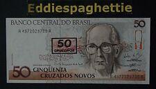Brazil 50 Cruzeiados 1990 UNC P-223