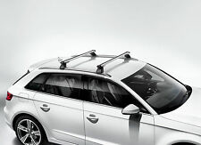 AUDI A3 ETRON ROOF RACK CROSS BARS BASE CARRIER 2016 - OEM NEW Audi 8V4071151A