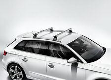 AUDI A3 ETRON ROOF RACK CROSS BARS BASE CARRIER 2016 - OEM NEW Audi 8V4071151