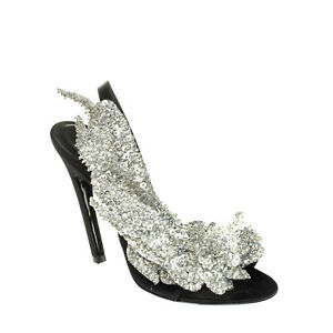 RIGHT SHOE ONLY RRP €650 BALENCIAGA Slingback Sandal 38 UK 5 US 8 Made in Italy