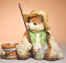 Calico Kittens: I'm Hooked On You - 129313 - Fishing Pole, Buckey & Bait