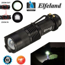 12000LM T6 Tactical Flashlight Military LED Zoomable Rechargeable Torch Light