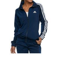 Women's adidas Striped Track Jacket size XS