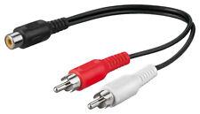 Audio-Video-Kabel 0,2 m ; AVK 108-0020 0.2m
