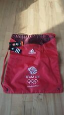 adidas official London 2012 Olympic Team GB Limited Edition Gymsack BRAND NEW