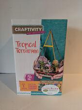 New listing Tropical Terrarium by Craftivity
