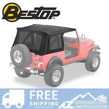 Bestop Supertop Replacement Skin Tint Windows Black For 76 95 Jeep Cj7 Wrangler Fits 1994 Jeep Wrangler