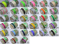 Cord Thread Nylon Knot Beading Macrame, 50 COLORS, 1mm, 136 Yards Spool