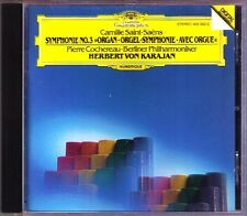 Herbert von KARAJAN: SAINT-SAENS Symphony No.3 Organ PIERRE COCHEREAU 1982 DG CD